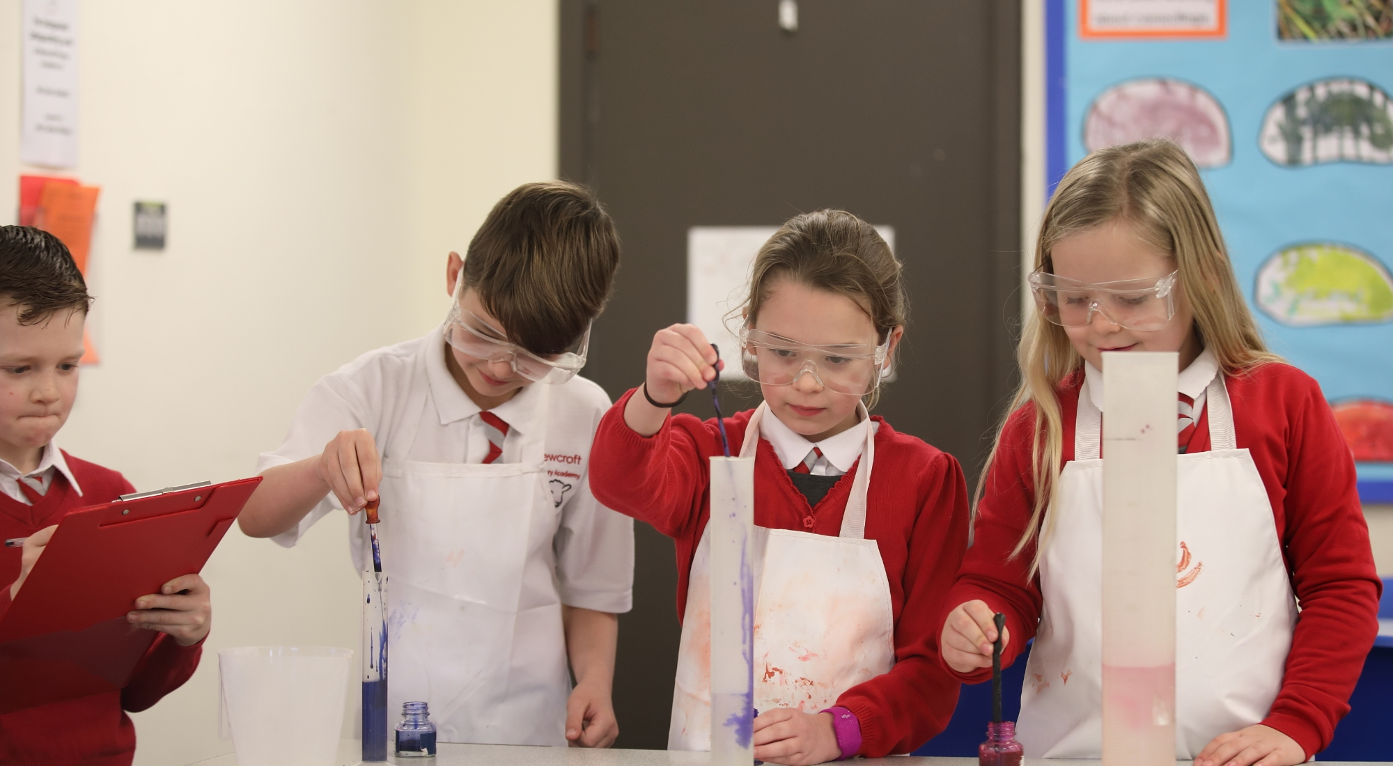 Science: Lessons and fun experiments!
