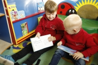 A focus on Phonics and Reading supports our pupils in their transition to school